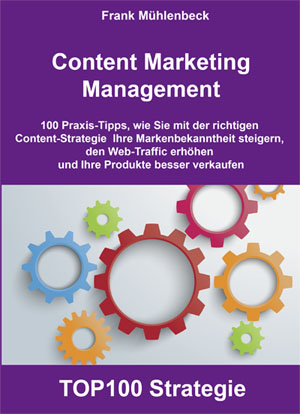 Buchcover Content Marketing Management